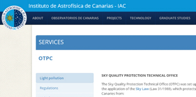 IAC Sky Quality Protection Technical Office